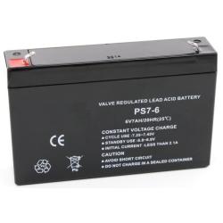 Аккумулятор ALPHA - 6В 7 А/ч - FB 7-6